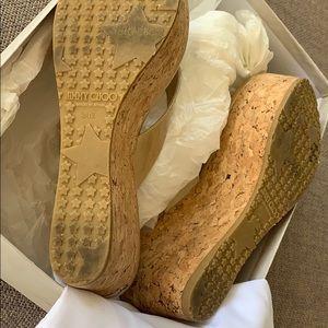 Jimmy Choo Shoes - Jimmy Choo PAT 365 wedged platform sandals